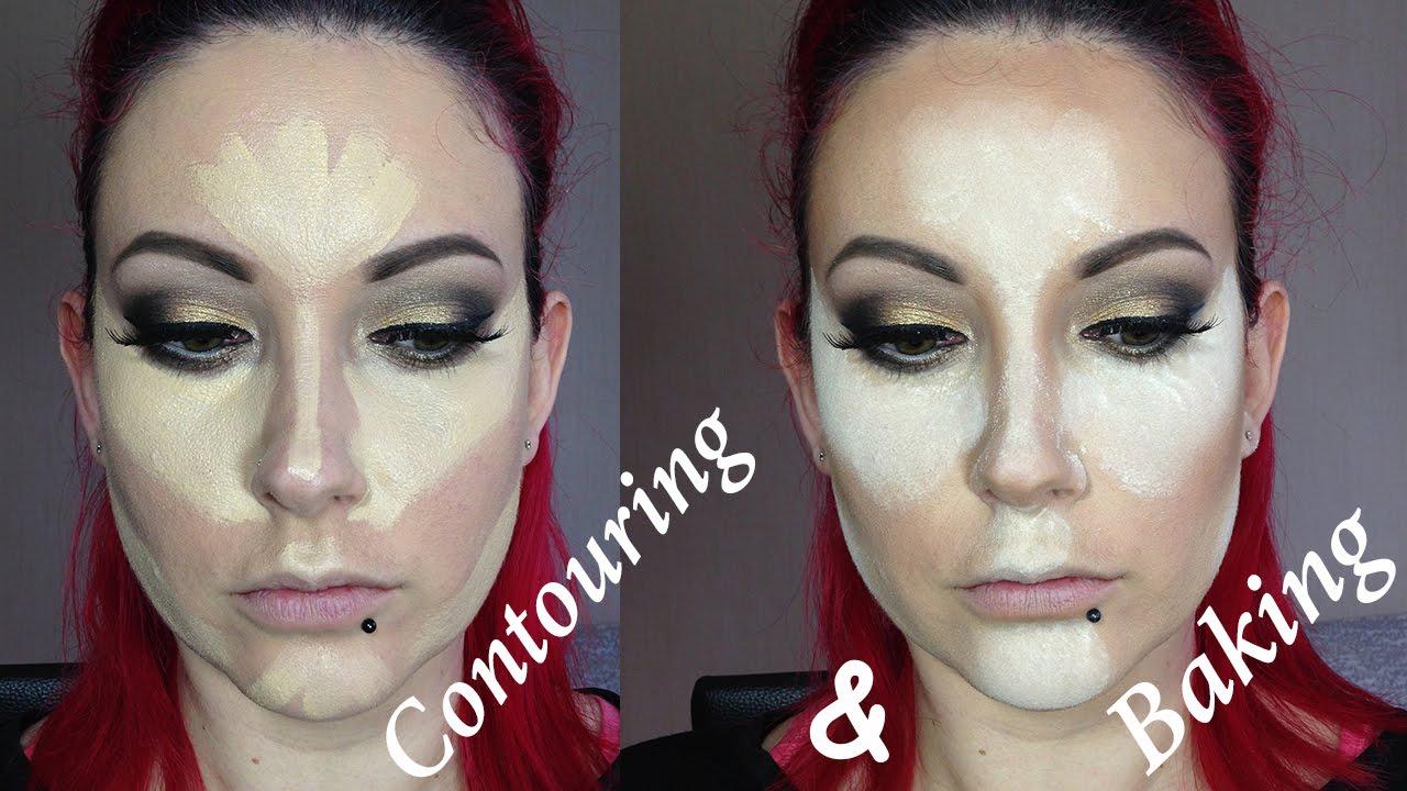 Highlight, Contour and Baking Makeup Tutorial